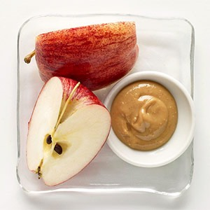 Apple and peanut butter (180)