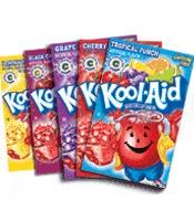 2 packs of kool aid