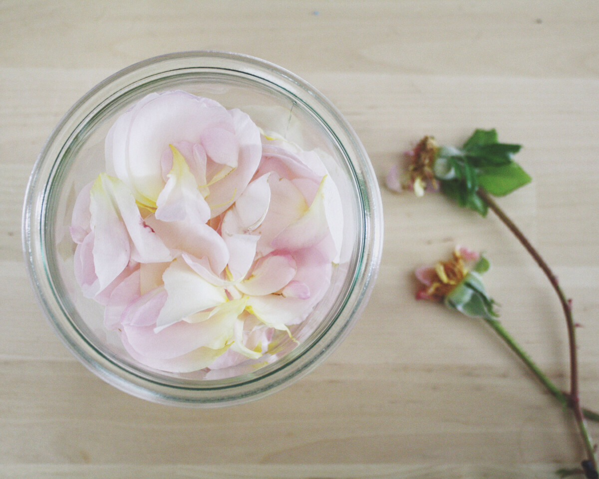 First, put water in a sauce pan and add some rose petals wait for it to boil for 10 to 15 minutes and when you see steam just put your clean face close to the steam so the steam can shrink yours pores also you have some rose water and can save for other thing or use it again just put till boil.