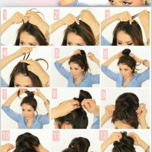 How To Make Messy Bun Hairstyle By Proma Akter Musely
