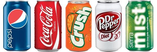 5. Last tip! Try to cut out all the sodas and alcohol from your diet. Try just drinking water!