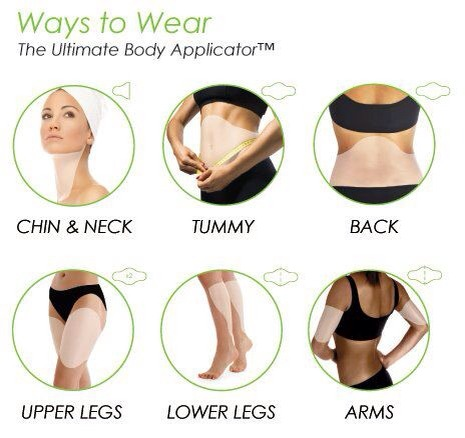 All the ways to wear the wraps. Wraps tighten, tone, and firm!