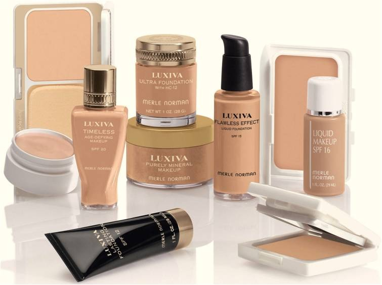 Foundation, it's a must have, have it different shades and forms