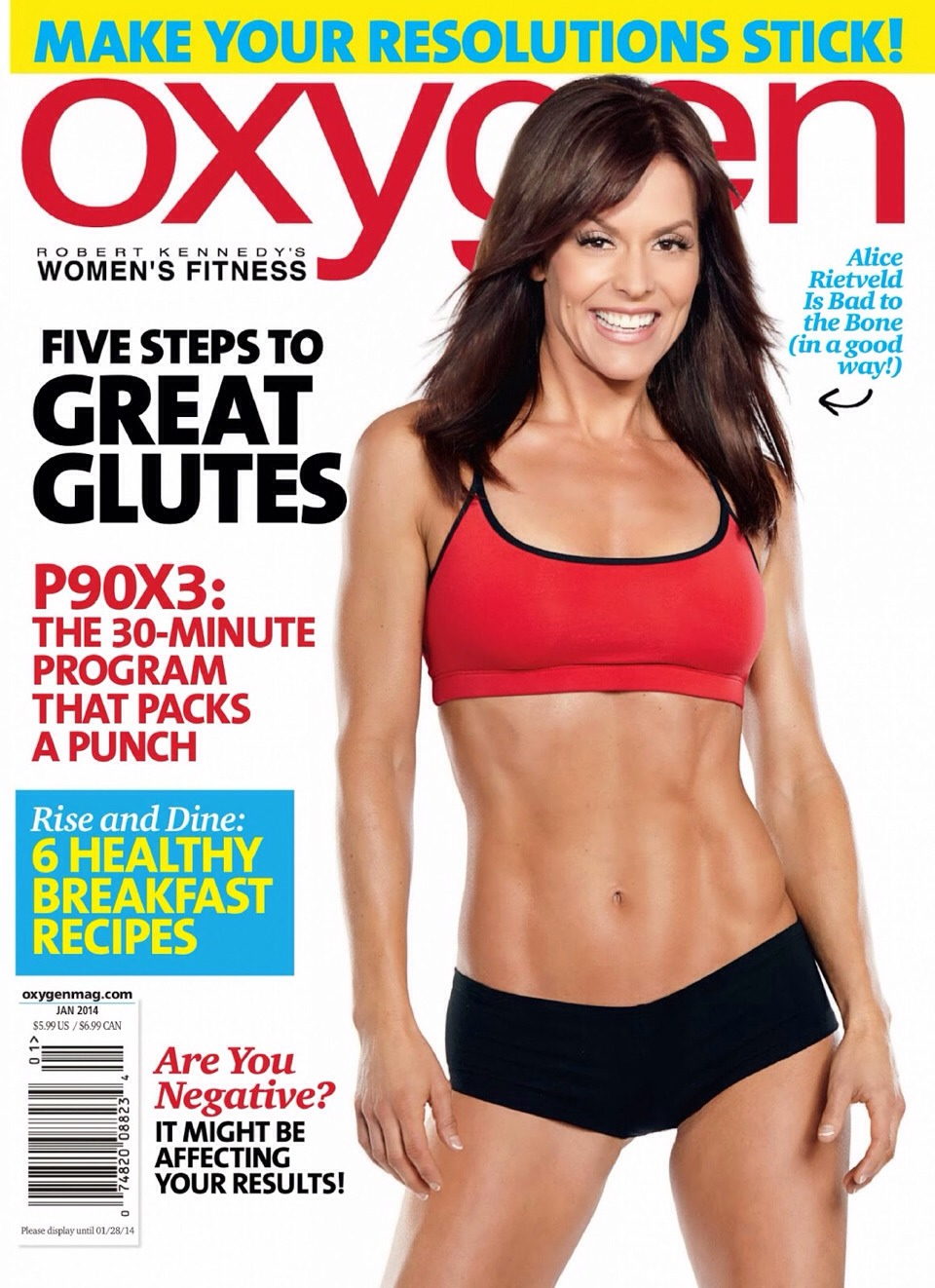 Tip# 2- next time you go to buy a guilty pleasure gossip mag, pick up an oxygen or fitness or muscle and fitness hers. Chances are the pics will inspire u and if you are still hungry you will find a healthier recipe for a snack or dessert inside