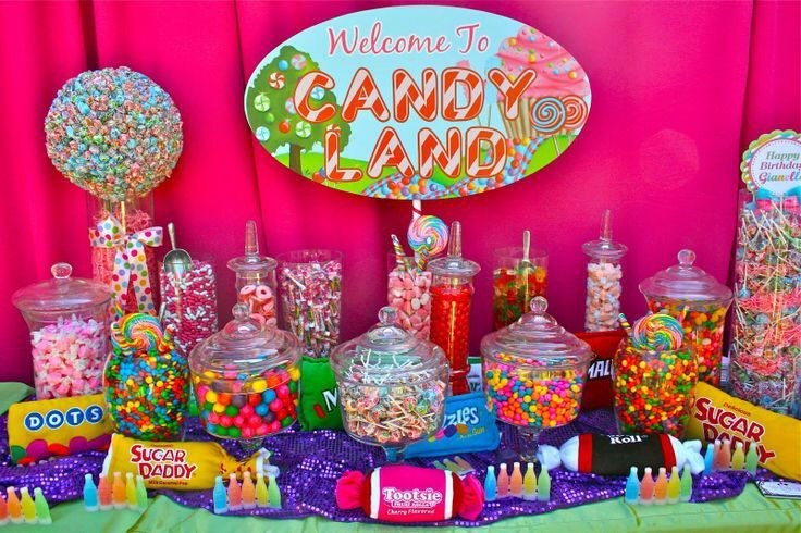 Candyland/ Candy Theme