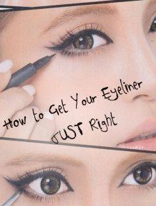 Chin Up There are some of us who tend to forget this very important step. Tilting your head up allows you to see the entire lid, so there are no gaps. By doing this is will help make your lashes appear more full