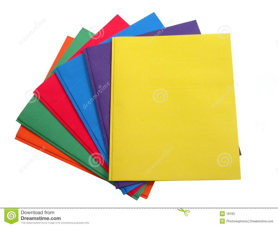 Folders.