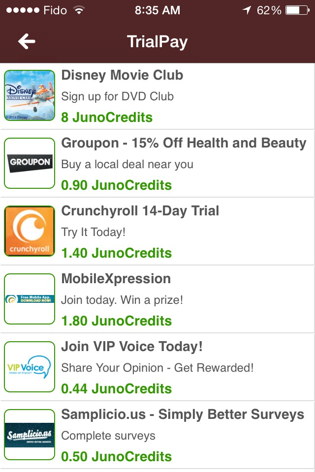 Bamboo Wallet is an app that lets you earn Gift Cards. Get $.25 when you install it using this link:  http://bit.ly/NxuNlS