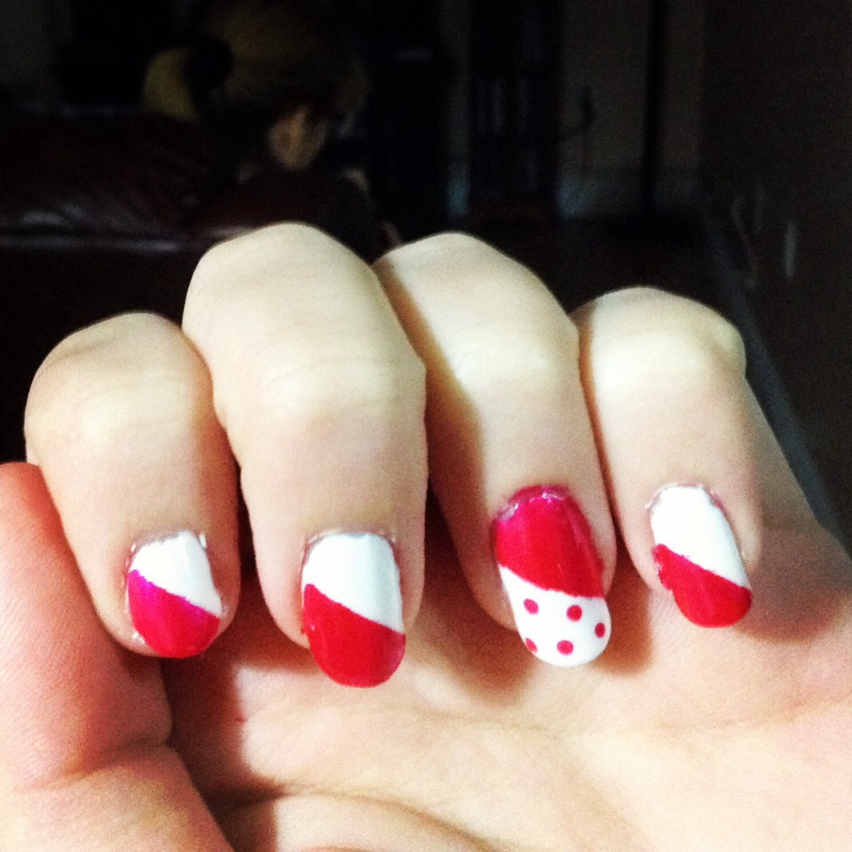 Cute Easy Nail Designs Using Tape: Musely
