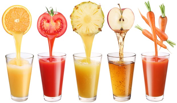 People are very misconstrued with the thought that fruit juices are good for you.  They are not.  They are packed full of Sugar and will not help you lose weight.  If you chose to drink it, try and make it fresh yourself.