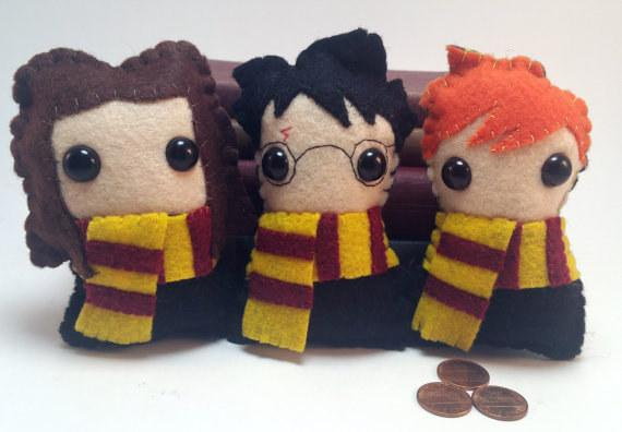 20. These Harry, Hermione, and Ron plushies are pretty irresistible.  $49