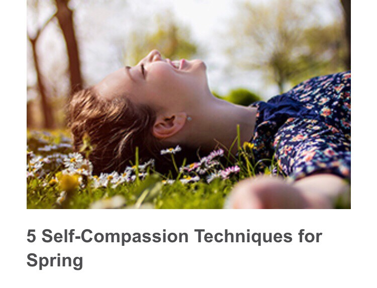 5 Self Compassion Techniques For Spring by Jo ⭐ - Musely 2745b6396