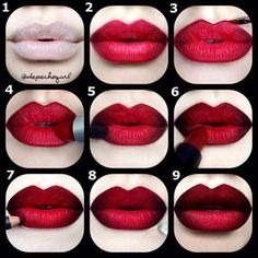 Love this one! It would look good with our Mac red lipstick!
