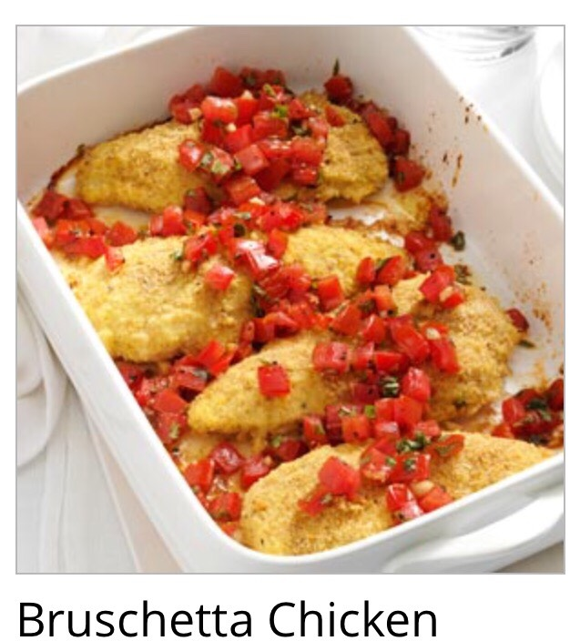 Here's how to make bruschetta chicken!