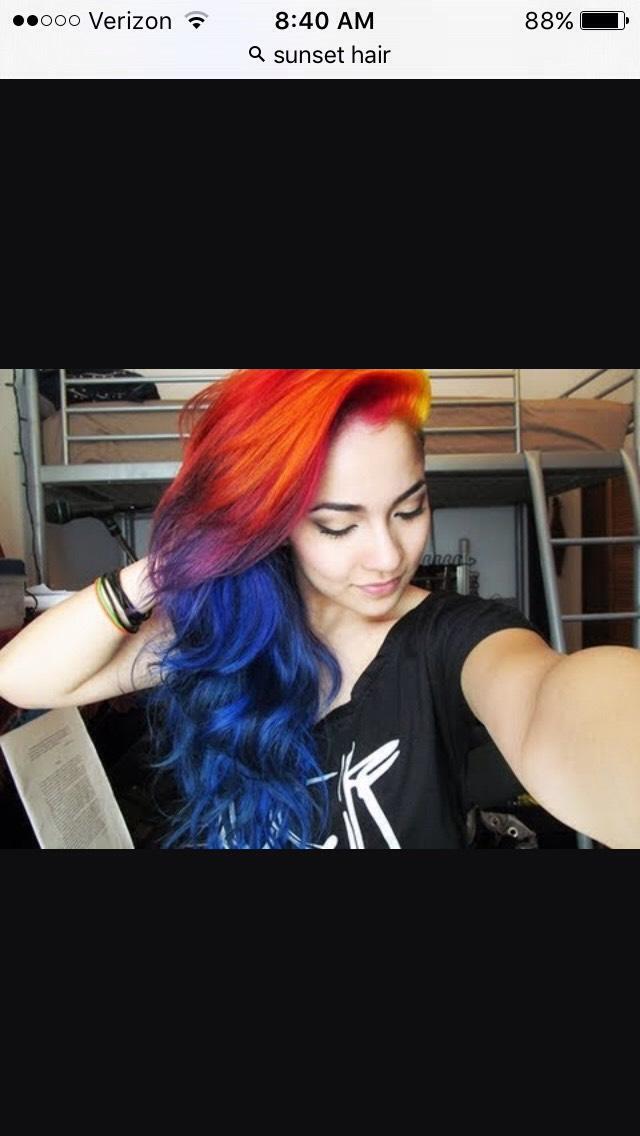 Sunset Hair!!