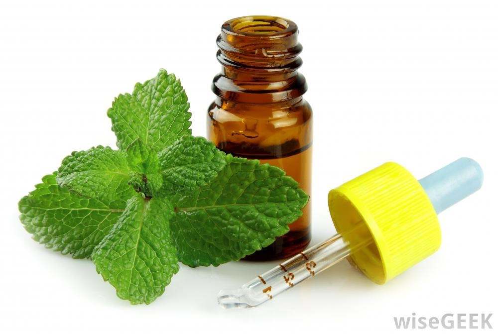Massage you forehead, temples, and the back of your neck with peppermint oil.