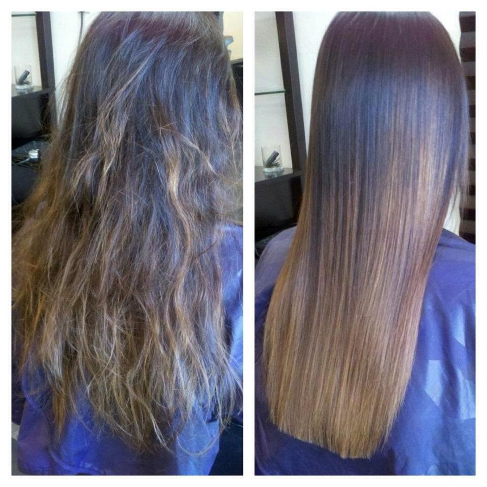 The average hair growth per month is half an inch, after Keratin treatment your hair grows two inches per month