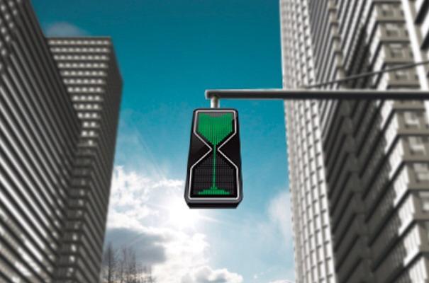 Hour Glass LED Traffic Lights