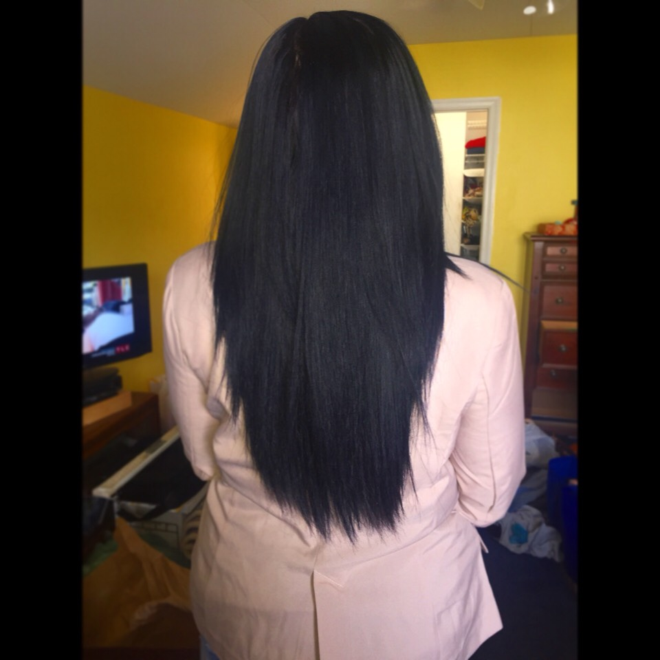 Long smooth natural silky hair!   Easy to get, Easy to maintain, Easy to keep!