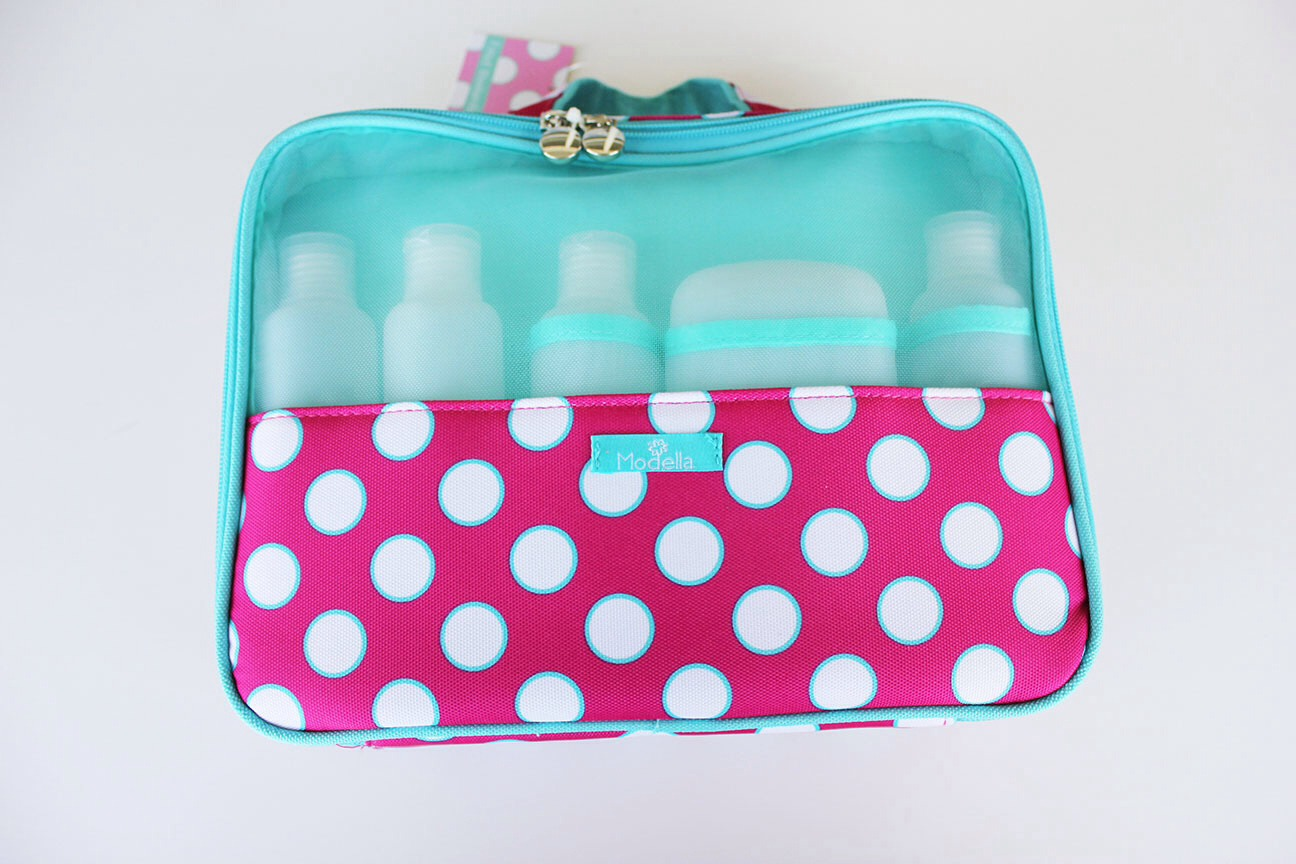 I am going to tell you what every girl should have in her school emergency kit, or what I keep in mine. First thing you need is a cute little bag to put every thing in.