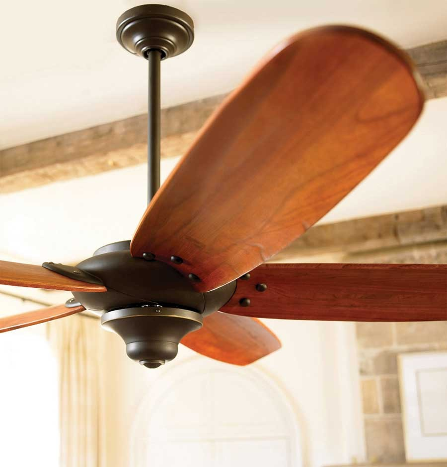 Clean your fan blades. Dust collects on these easily and it will spread it all over your house. If it's really bad, I will get furniture polish and wipe them down. If it's just a little bit I use the swiffer 360 things. Catches the dust and works like a charm.