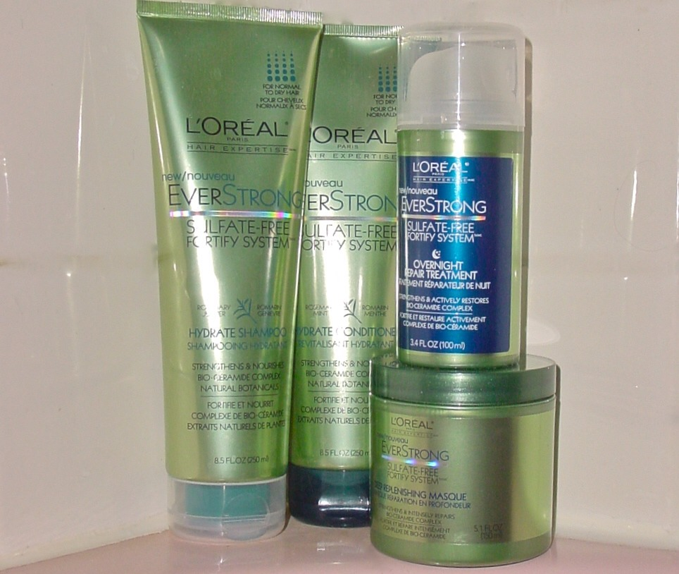 L'Oréal Paris EverStrong Sulfate-Free Fortify System Overnight Repair Treatment: The potent formula penetrates your hair shaft while you sleep, helping heal and strengthen your fried locks after just one use. Bonus: it won't leave any residue on your pillow, so you can sleep easy.