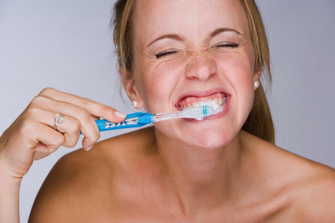 Skimping on brushing & flossing teeth.