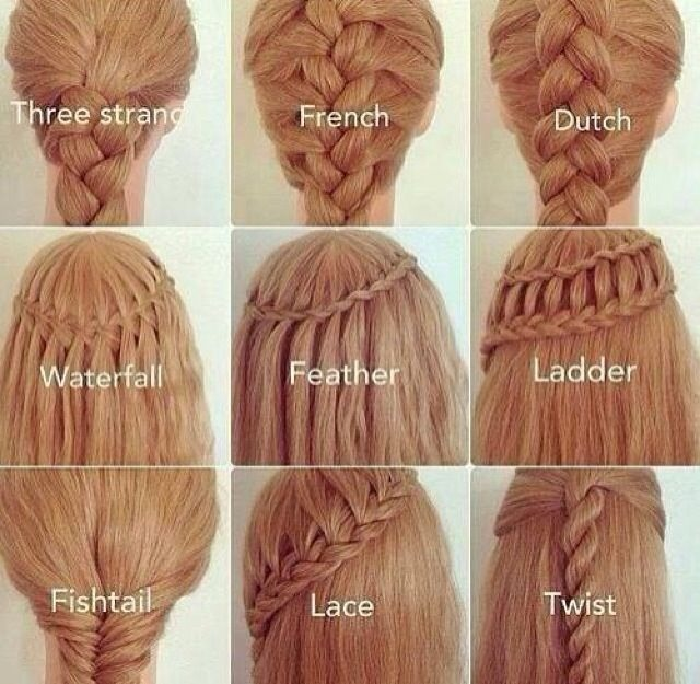 Diffe Types Of Braid And How To Do Them