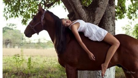 Bareback- try bareback riding, really feel your horses rhythm, their breathing, their steps, their heart beat.