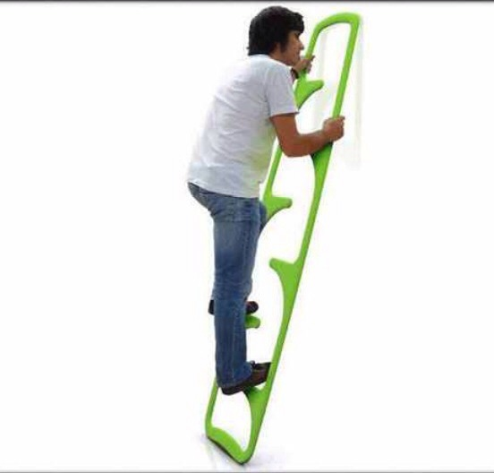 A sturdier ladder!