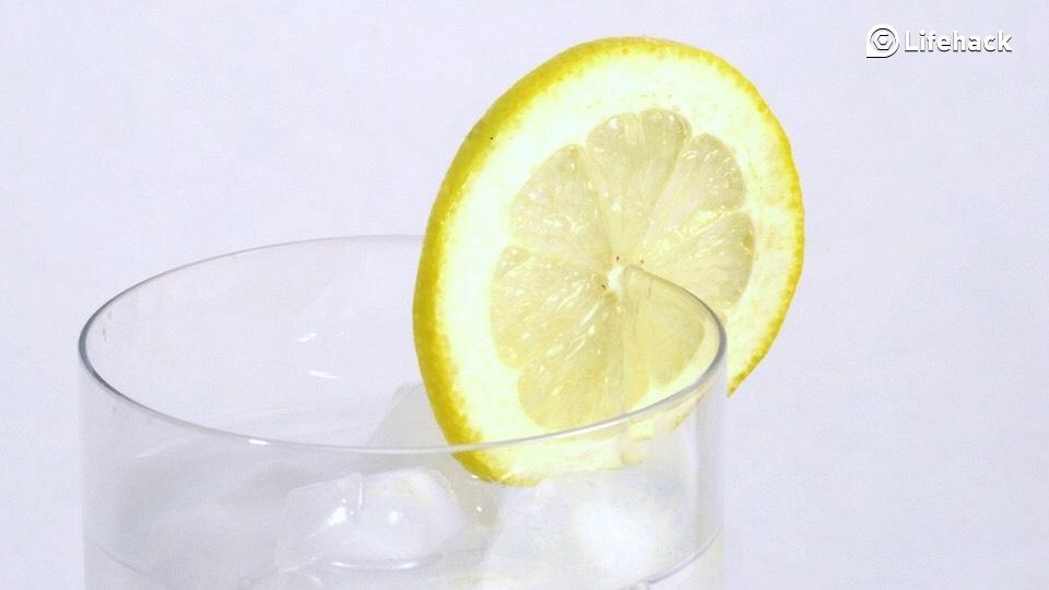Lemon water!