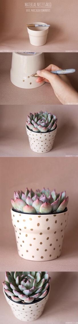 Use a sharpie on pots!