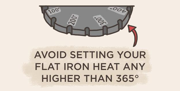 4. Set the heat no higher than 365 degrees.