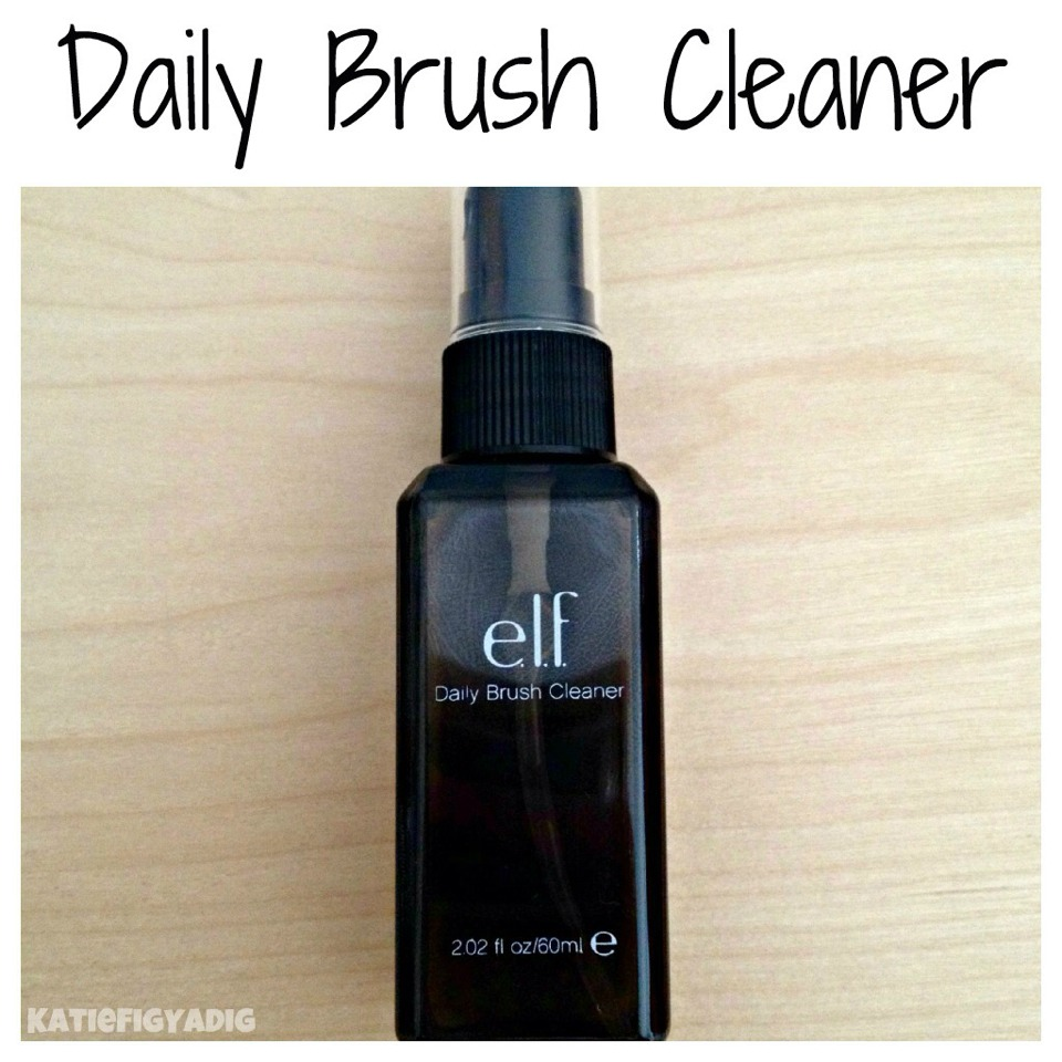 "I also LOVE e.l.f cosmetics' ""Daily Brush Cleaner"" super cheap, works like a charm, and dries in 30 seconds ❤️"