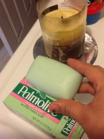Buy a palmolive bar soap their $1 in the dollar tree store :)