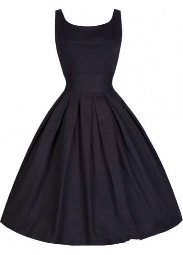 $16.58 http://m.rotita.com/vintage-round-neck-pleated-black-a-line-dress-g128596.html