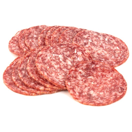 Separate your salami, any kind you prefer.