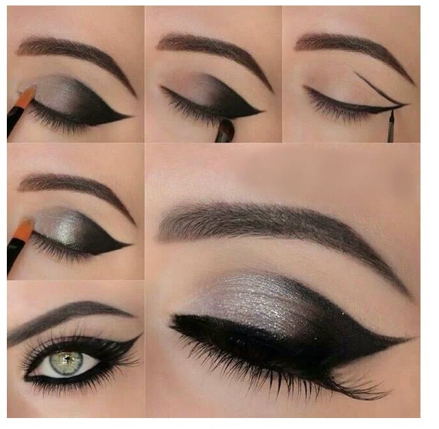 Easy Beautiful Eye Makeup By Samina Khan Musely