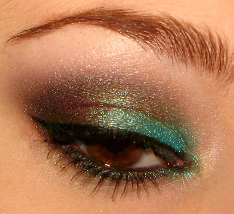 peacock eye makeup ideas