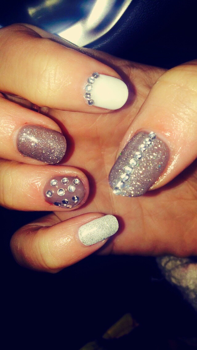 Natural - Xmas nails