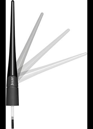 The cap is flexible and swivels to allow you to reach every part of your nail bed without moving the brush too much.