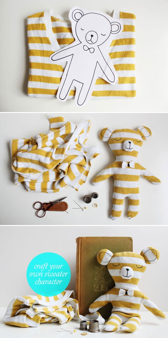 8. T-shirt teddy bear