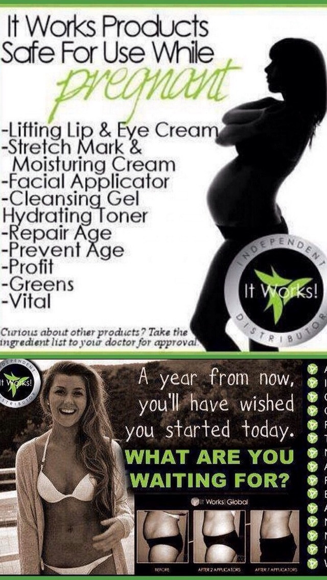 Safe for pregnancy! Become a Loyal Customer and get amazing discounts! Become a DT and sell your own! Also there's a $10,000 bonus right now for signing up! Ask me!
