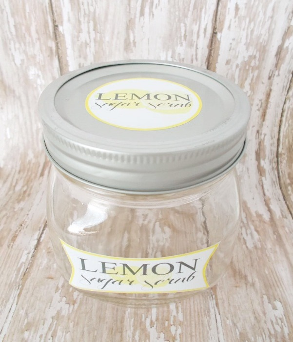 Grab a little jar of some sort. If u want you can make cute labels and print on label appear to stick on the jar!