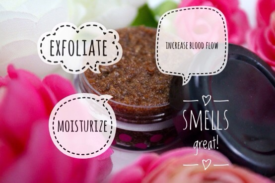 The sugar scrub will exfoliate the dead, flaky skin off of your lips, while the coconut oil moisturizes.  The honey gives the scrub a nice texture + scent while the cinnamon (optional) will increase blood flow to your lips. I recommend adding the vanilla (optional) - it makes it smell amazing.