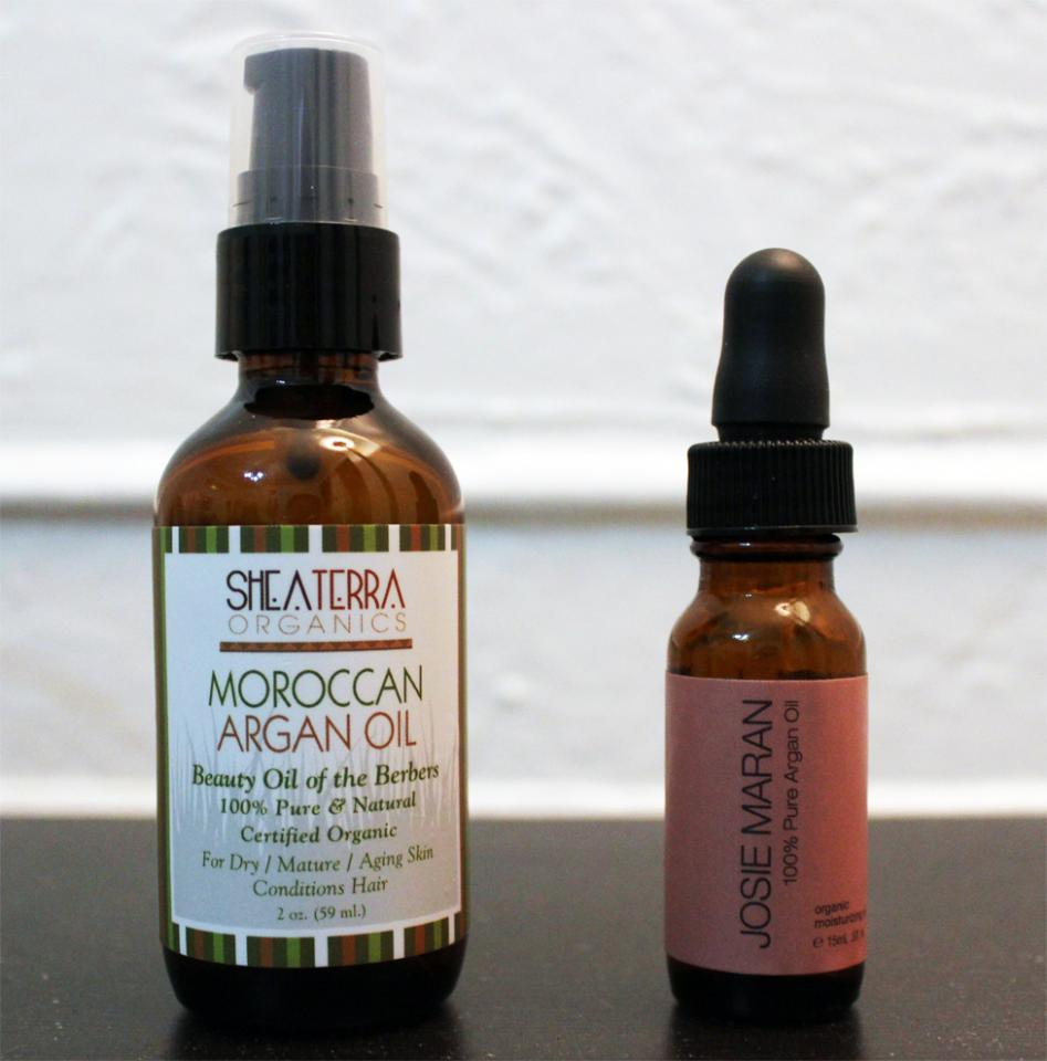 These two argan oils are great options for adding extra oil to dry skin.