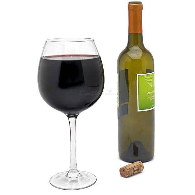 4. Gigantic Wine Glass