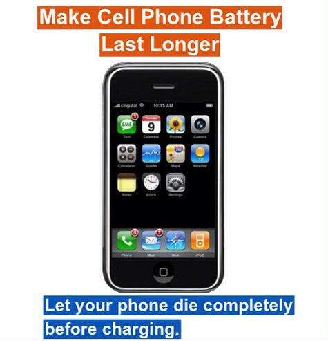10 Tips for Your Cell Phone Last Longer!