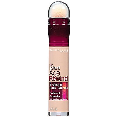 Then, I use a concealer. The instant age rewind works awesome