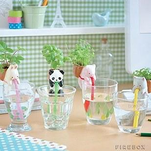 5. These self-watering animal plants ($15).
